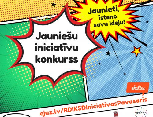 Iniciatīvu konkurss Rīgas jauniešiem!