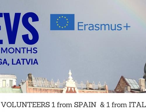 """Eiropas brīvprātīgā darba projekts """"IN ACTION"""""""