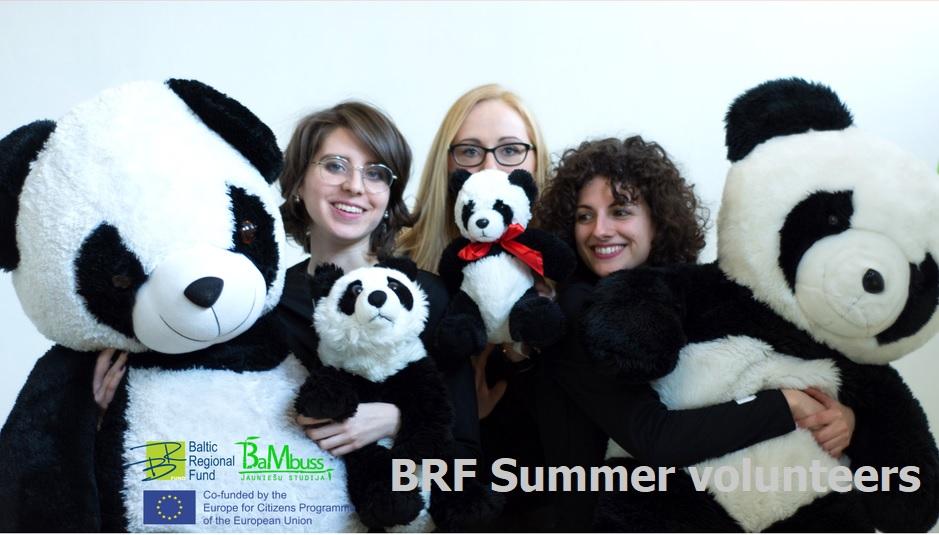 """Brīvprātīgā darba projekts """"BRF Summer Volunteers"""""""