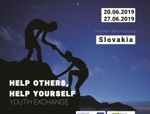 Youth Exchange ''HELP OTHERS, HELP YOURSELF''