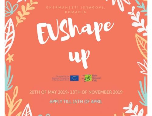 """Brīvprātīgais darbs """"EV shape up"""" Rumānijā"""