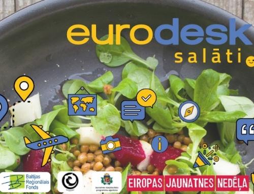 """Uzzini par jauniešu iespējām pasākumā """"Eurodesk Salāti"""""""