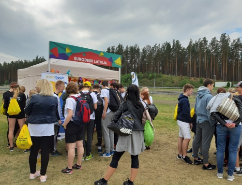 Eurodesk aktivitātes ZZ Čempionātā
