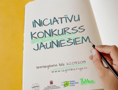Rīgas jaunieši aicināti iesniegt projektus iniciatīvu konkursa rudens kārtā!