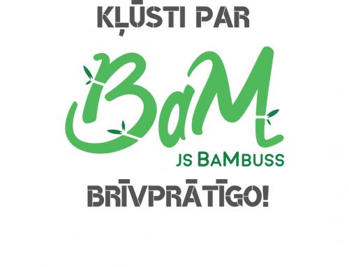 Kļūsti par #jsBaMbuss brīvprātīgo!