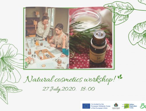 Natural Cosmetics Workshop!